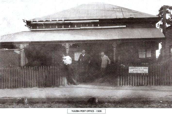 Yeulba Post Office 1926