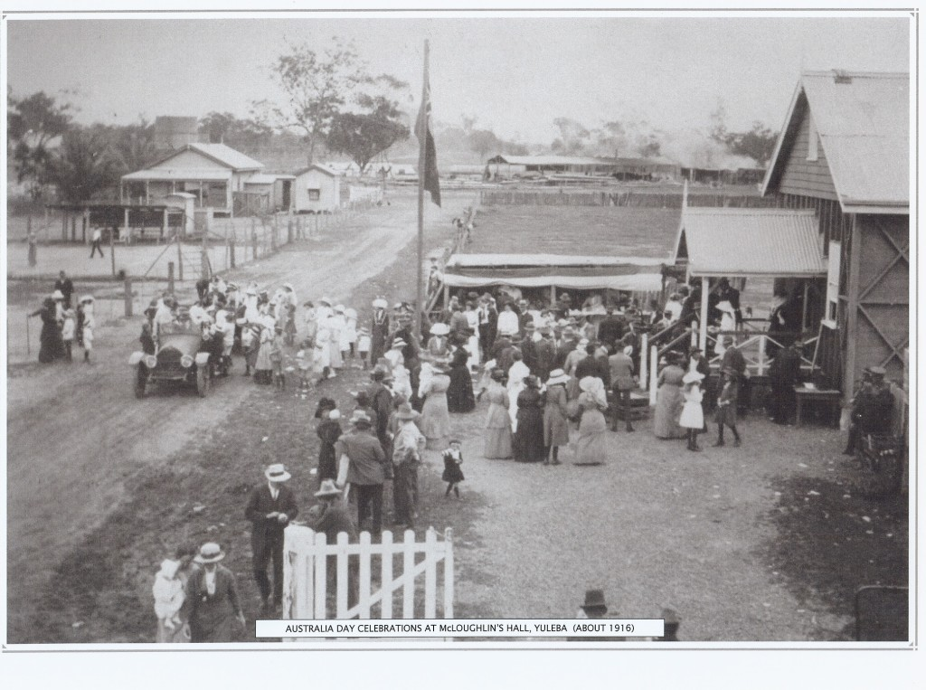 Australia Day Celebrations  about 1916