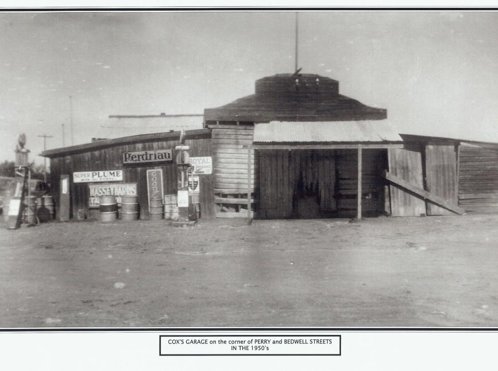 Cox's Garage Perry Street 1950