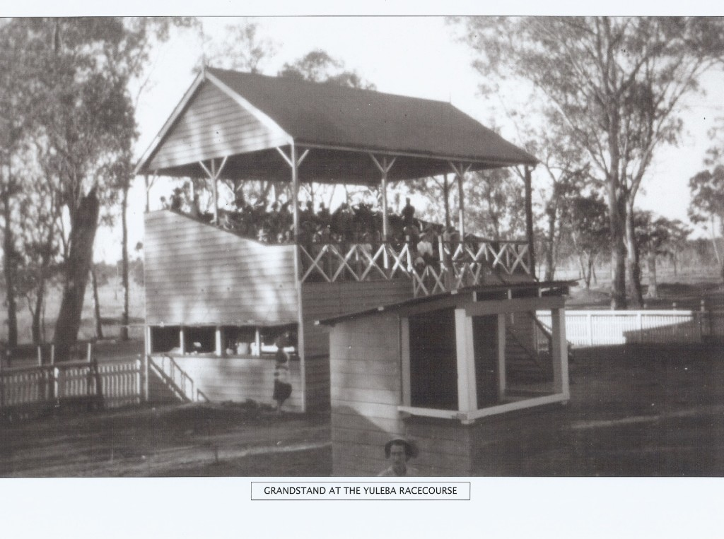 Grandstand at Yuleba Race Course