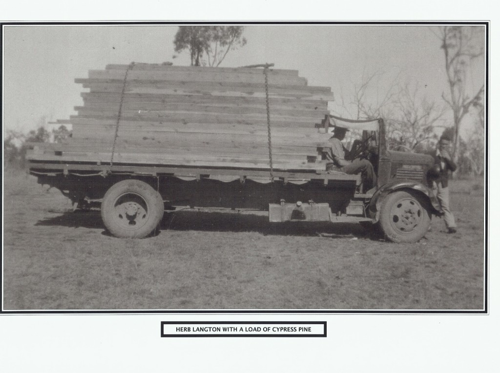Herb Langton and Load of Cypress