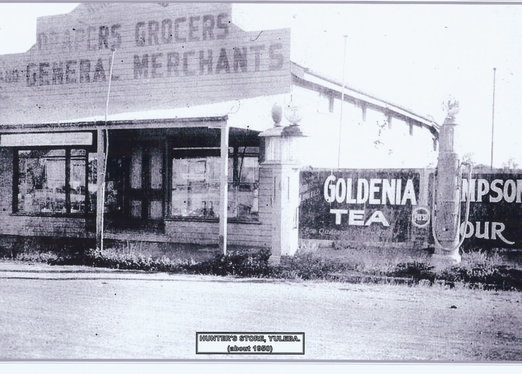 Hunter's Store Yuleba about 1950