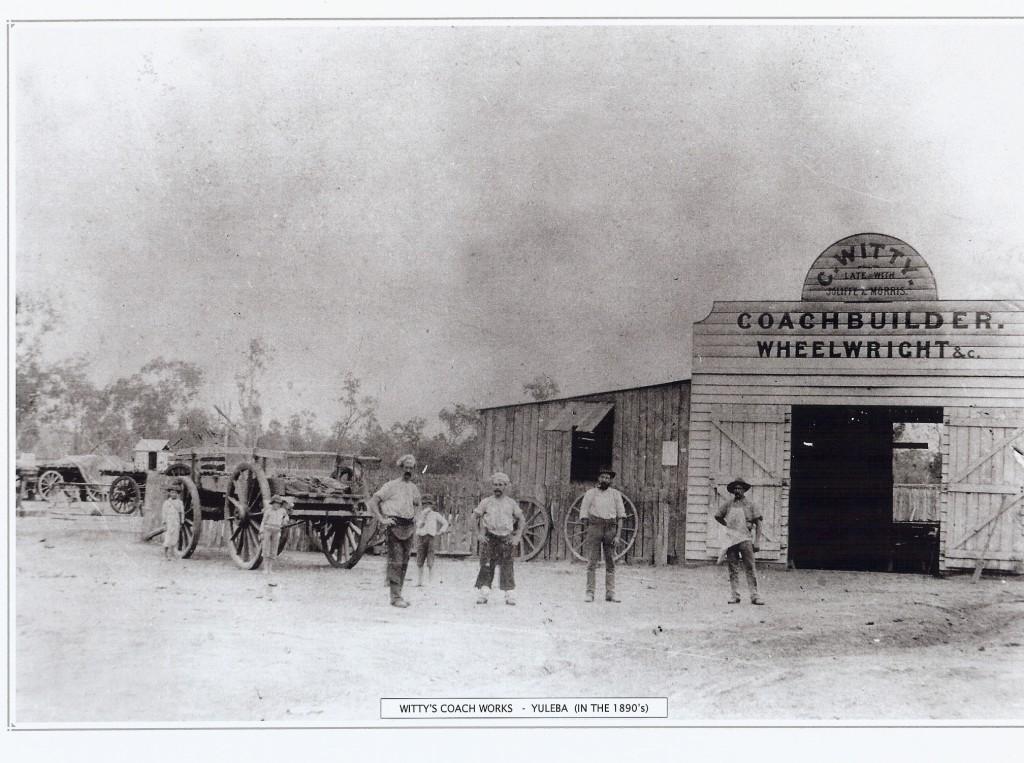 Witty's Coach Works 1890's
